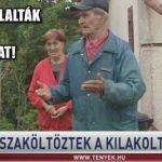 VISSZAFOGLALTA A HÁZÁT A KILAKOLTATOTT IDŐS HÁZASPÁR!