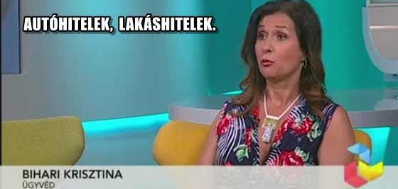 DR. BIHARI KRISZTINA-AUTÓHITELEK, LAKÁSHITELEK.