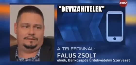 """""""DEVIZAHITELEK""""-A TELEFONNÁL FALUS ZSOLT."""