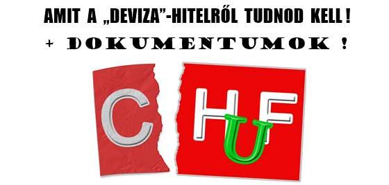 """AMIT A """"DEVIZA""""-HITELRŐL TUDNOD KELL! + DOKUMENTUMOK!"""