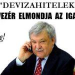 """""""DEVIZAHITELEK""""-AMIKOR EGY BANKVEZÉR ELMONDJA AZ IGAZSÁGOT!"""