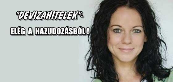 """""""DEVIZAHITELEK""""-ELÉG A HAZUDOZÁSBÓL!"""