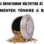 FELVÉTELKORI ÁRFOLYAMON VÁLTOTTÁK ÁT A HITELEKET-ÉS NEM MENTEK TÖNKRE A BANKOK!