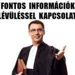 FONTOS INFORMÁCIÓK AZ ELÉVÜLÉSSEL KAPCSOLATBAN.