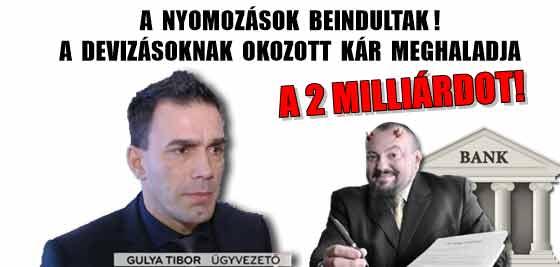 A NYOMOZÁSOK BEINDULTAK! A DEVIZÁSOKNAK OKOZOTT KÁR MEGHALADJA A 2 MILLIÁRDOT!
