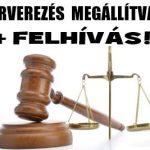 ÁRVEREZÉS MEGÁLLÍTVA + FELHÍVÁS!