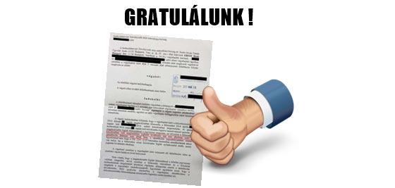 GRATULÁLUNK! A BANK MAGÁNOKIRATBAN KÖZÖLT FELMONDÁSSAL NEM INDÍTHAT VÉGREHAJTÁST!