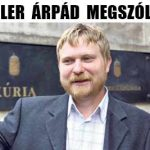KÁSLER ÁRPÁD MEGSZÓLALT.