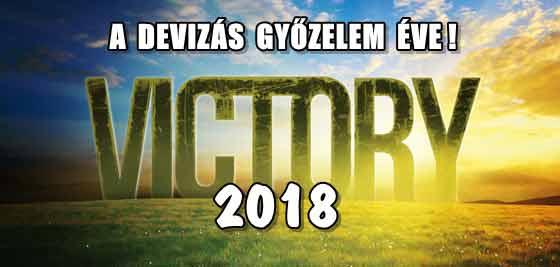 2018 LEGYEN A DEVIZÁS GYŐZELEM ÉVE!