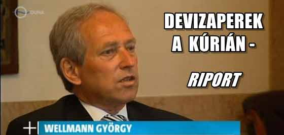 DEVIZAPEREK A KÚRIÁN-WELLMANN RIPORT.