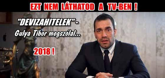 """EZT NEM LÁTHATOD A TV-BEN! """"DEVIZAHITELEK"""" - GULYA TIBOR MEGSZÓLAL!"""