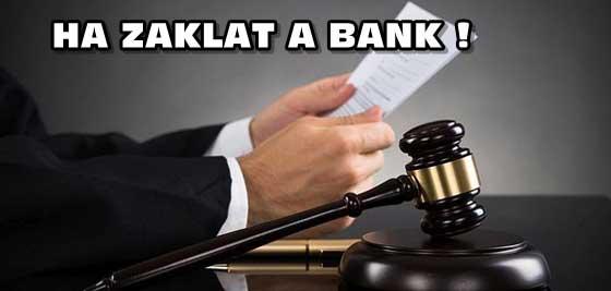 HA ZAKLAT A BANK!