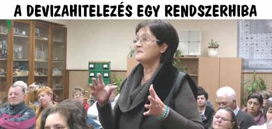 A DEVIZAHITELEZÉS EGY RENDSZERHIBA.