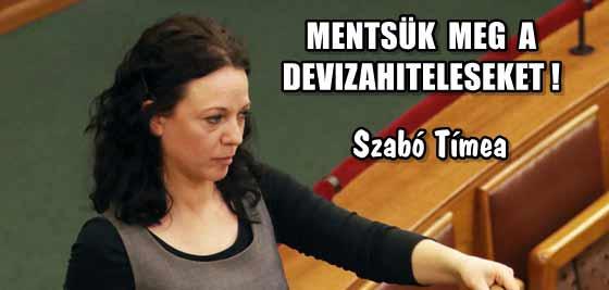 SZABÓ TÍMEA - MENTSÜK MEG A DEVIZAHITELESEKET.