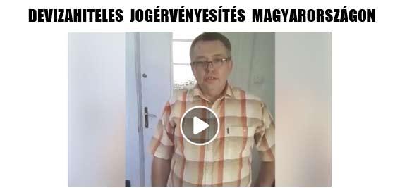 2018-DEVIZAHITELES JOGÉRVÉNYESÍTÉS MAGYARORSZÁGON.