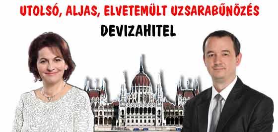DEVIZAHITEL-UTOLSÓ, ALJAS, ELVETEMÜLT UZSORABŰNÖZÉS.