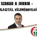 SZAKAD A JOBBIK – NINCS BOMLASZTÁS, VÉLEMÉNYNYILVÁNÍTÁS VAN!