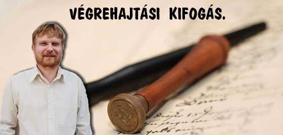 VÉGREHAJTÁSI KIFOGÁS-KÁSLER ÁRPÁD.