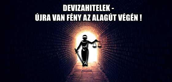 DEVIZAHITELEK - ÚJRA VAN FÉNY AZ ALAGÚT VÉGÉN!