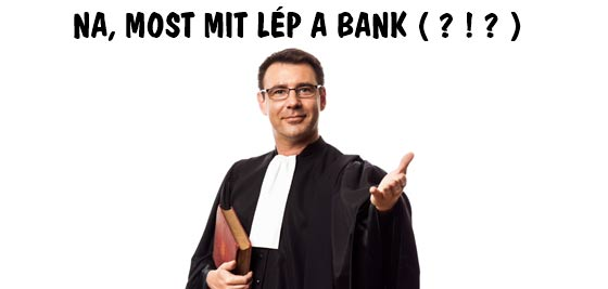 NA, MOST MIT LÉP A BANK?