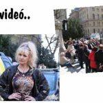 Bíró Ica is ott van Kúria előtti tüntetésen: felszólalt a tömegben – fotók, videó.