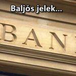 Baljós jelek a magyar bankoknál: elkezdtek bedőlni a hitelek