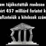 A bankok nem tájékoztatták rendesen ügyfeleiket, ezért 437 milliárd forintot kell visszafizetniük a hitelesek számára