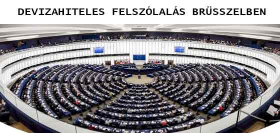 DEVIZAHITELES FELSZÓLALÁS BRÜSSZELBEN