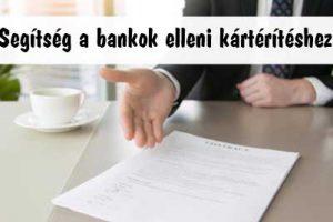 Kártérítési Ügyvéd - Segítség a bankok elleni kártérítéshez: