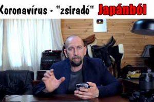 """Koronavírus - """"zsiradó"""" Japánból"""