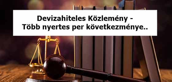 Devizahiteles Közlemény - Több nyertes per következménye..