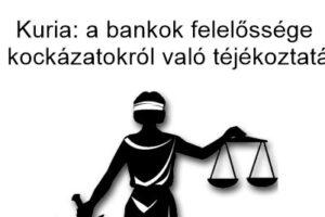 Civil Kontroll - devizahitel Kuria: a bankok felelőssége a kockázatokról való tájékoztatás