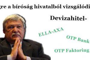 Devizahitel, devizahiteles ügyvéd, Dr. Szabó László, Devizahitel-Végre a bíróság elkezdett hivatalból vizsgálódni!