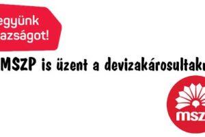 Nemzeti Civil Kontroll, kormányváltás, MSZP. üzenet, Az MSZP is üzent a devizakárosultaknak