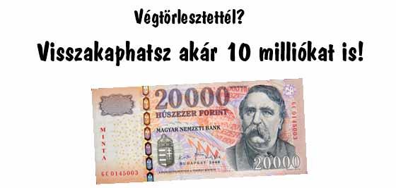 Dr. Szabó V László, kártérítés, ügyvéd, végtörlesztés, Nemzeti Civil KOntroll, Végtörlesztettél? Visszakaphatsz akár 10 milliókat is!