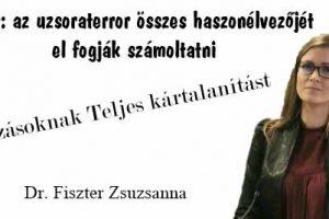 devizahitel, Nemzeti Civil Kontroll, Dr. Fiszter Zsuzsanna, üzenet, Mszp, DK, Jobbik, ÜZENET: Devizásoknak teljes és átfogó kártalanítást, a kifolyósított tőke összeggel való elszámolást!