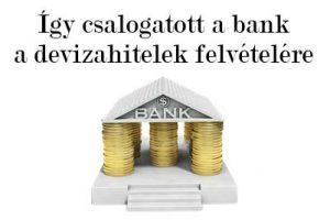 dr. Szabó V. László ügyvéd, Nemzeti Civil Kontroll, csalogatott, devizahitel, Így csalogatott a bank a devizahitelek felvételére