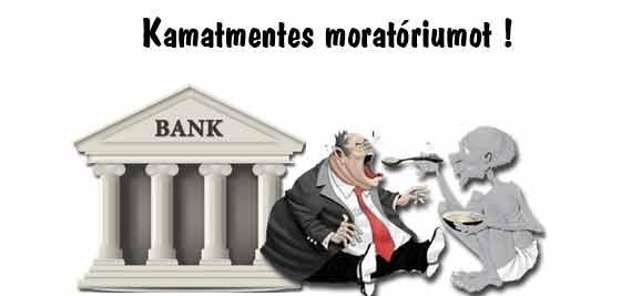 moratórium, hitel, devizahitel, Nemzeti Civil Kontroll, Dr. Fiszter Zsuzsanna, Kamatmentes moratóriumot